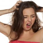 頭皮湿疹の苦しみ